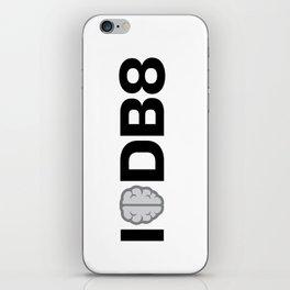 I Think Debate iPhone Skin
