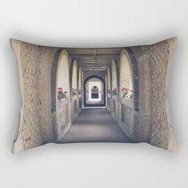 Entering Atalaya Rectangular Pillow