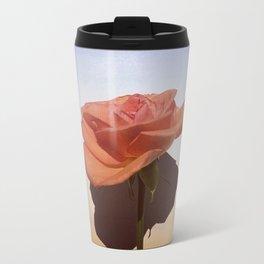 Pastel Rose Metal Travel Mug