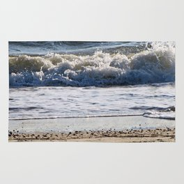 Cape May Beach New Jersey By Annie Zeno Rug