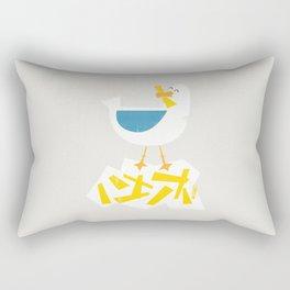 Hungry Seagull Rectangular Pillow