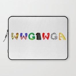 WWG1WGA (Where we go one, we go all.) Laptop Sleeve