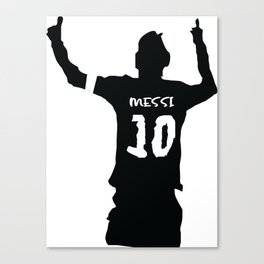 Festejo Messi Canvas Print
