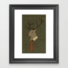 Young Professional  Framed Art Print