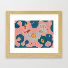Jack & The Beanstalk Ⅱ Framed Art Print