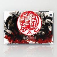 casablanca iPad Cases featuring WAC Wydad Casablanca by Genco Demirer