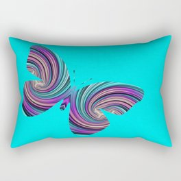Life Is Like A Butterfly Rectangular Pillow
