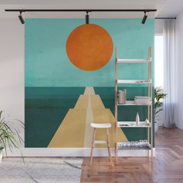 The Road Less Traveled Wall Mural