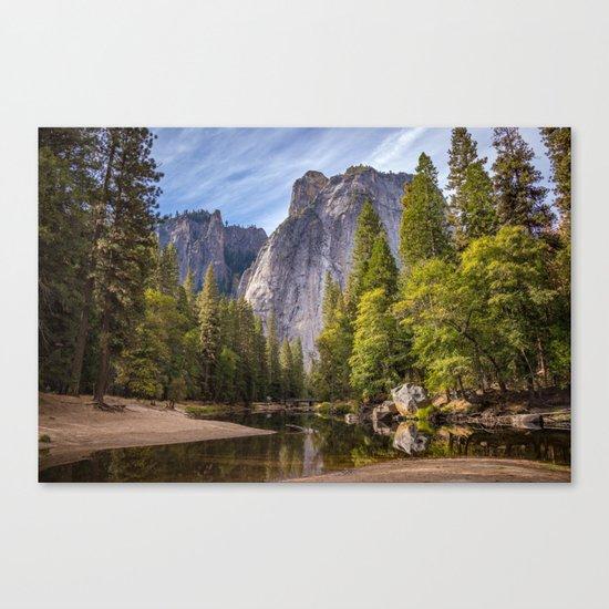 Heavenly Landscape Canvas Print