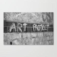Art Project Canvas Print