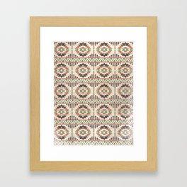 The Native Pattern Framed Art Print