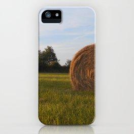 Golden hay iPhone Case