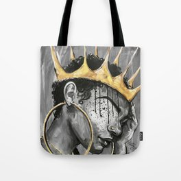 Naturally Queen X Tote Bag