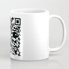 Mega Man QR Code 8-Bit Art Coffee Mug