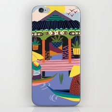 Water Village, Cambodia iPhone & iPod Skin