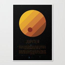 Galaxy Cake - Jupiter 2 Canvas Print