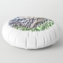 Blossomed meadows Floor Pillow