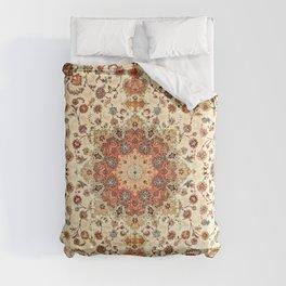 N71 - Orange Antique Heritage Traditional Moroccan Style Mandala Artwork Comforters