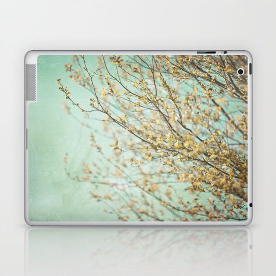 Turquoise Skies  Laptop & iPad Skin