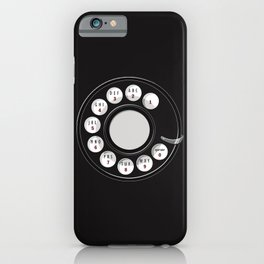 Rotary Me iPhone Case