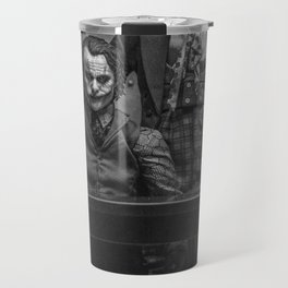 The Jokers in black and white Travel Mug