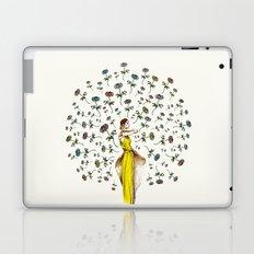 Paris Summer   The Flower Girl Laptop & iPad Skin