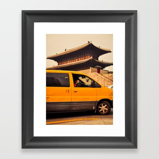 Dongdaemun Gate II Framed Art Print