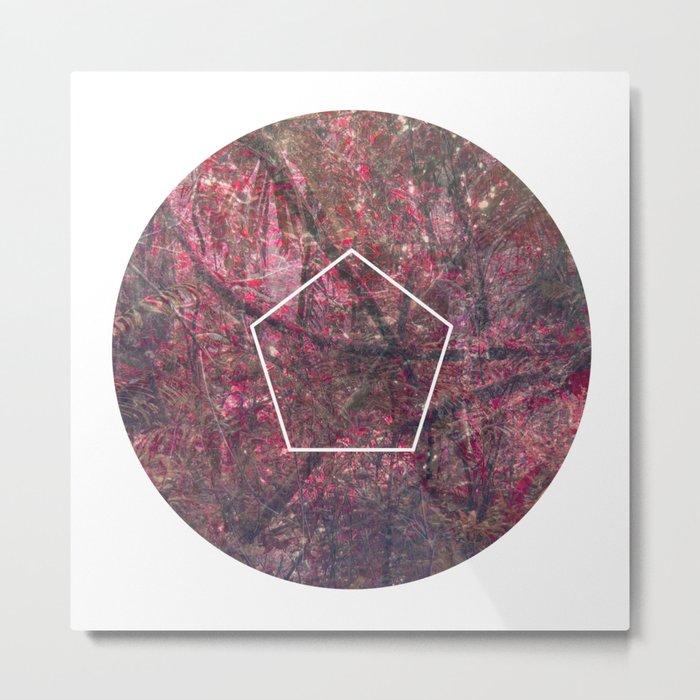 Geometrie #4 Metal Print