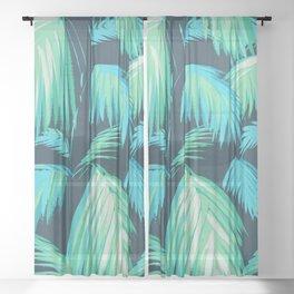 Matthew Williamson Tropicana Wallpaper Sheer Curtain