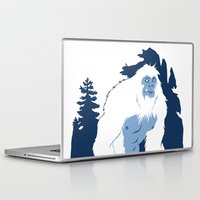 yeti Laptop & iPad Skins featuring Yeti by Rachel Young