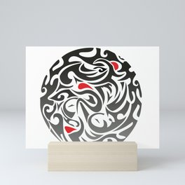 Triathlon Mini Art Print