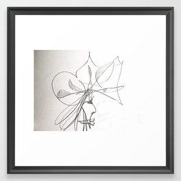 i am crazy Framed Art Print
