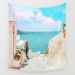 Surreal Greece #photography #travel Wall Tapestry