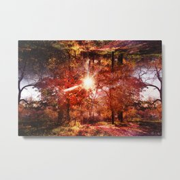 What's Up, Is Down Metal Print