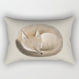 Swift Fox Sleeping Rectangular Pillow