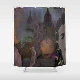 Never look back in the Day Shower Curtain
