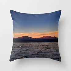 Sunset in Atacama Throw Pillow