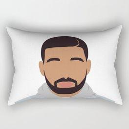 Drake Minimalist Rectangular Pillow