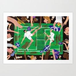 'Match Point' Art Print