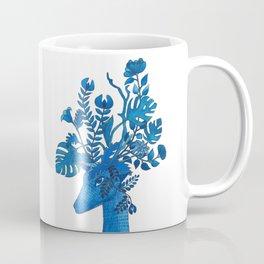 Flowery fawn Coffee Mug