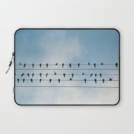 Up On A Wire Laptop Sleeve