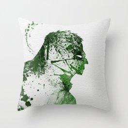 Irritated Throw Pillow