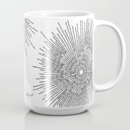 Bridging on White Background Coffee Mug