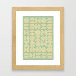 Burano in Lime Framed Art Print
