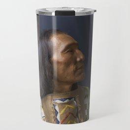 Little Dog - Brulé Lakota Sioux - American Indian Travel Mug