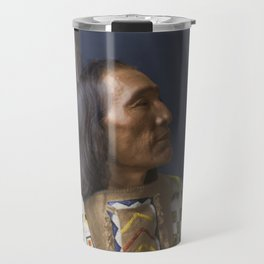 Little Dog - Brulé Lakota Sioux - American Indian Travel Mug