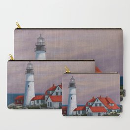 Portland Lighthouse Maine Carry-All Pouch