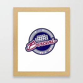 CARTIERE - Berceni Framed Art Print