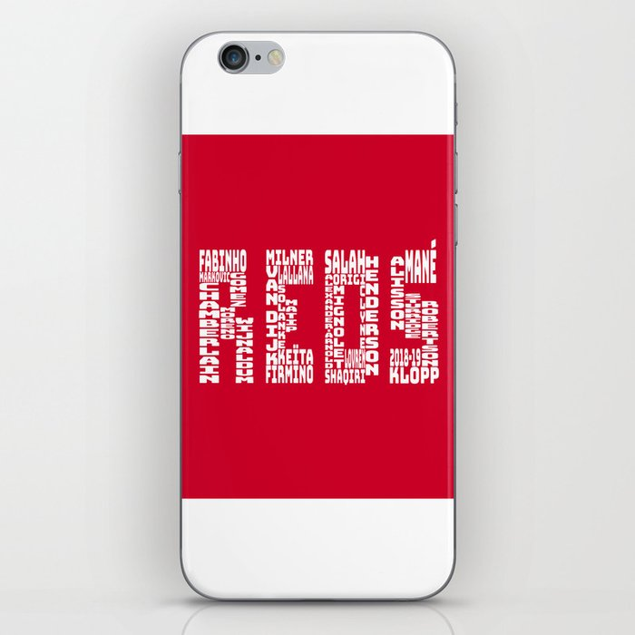Liverpool 2018 - 2019 iPhone Skin