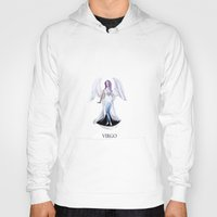 virgo Hoodies featuring VIRGO by Dano77